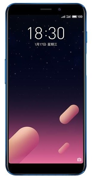 Meizu M6S 3/32Gb Dual (Blue)