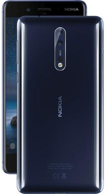 Nokia 8 Dual SIM (Polished Blue)