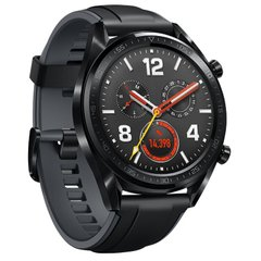 Смарт-часы - Huawei Watch GT 46mm Sport 55023259 (Black)