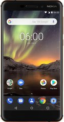 Nokia 6.1 3/32Gb 11PL2B01A11 (Black)